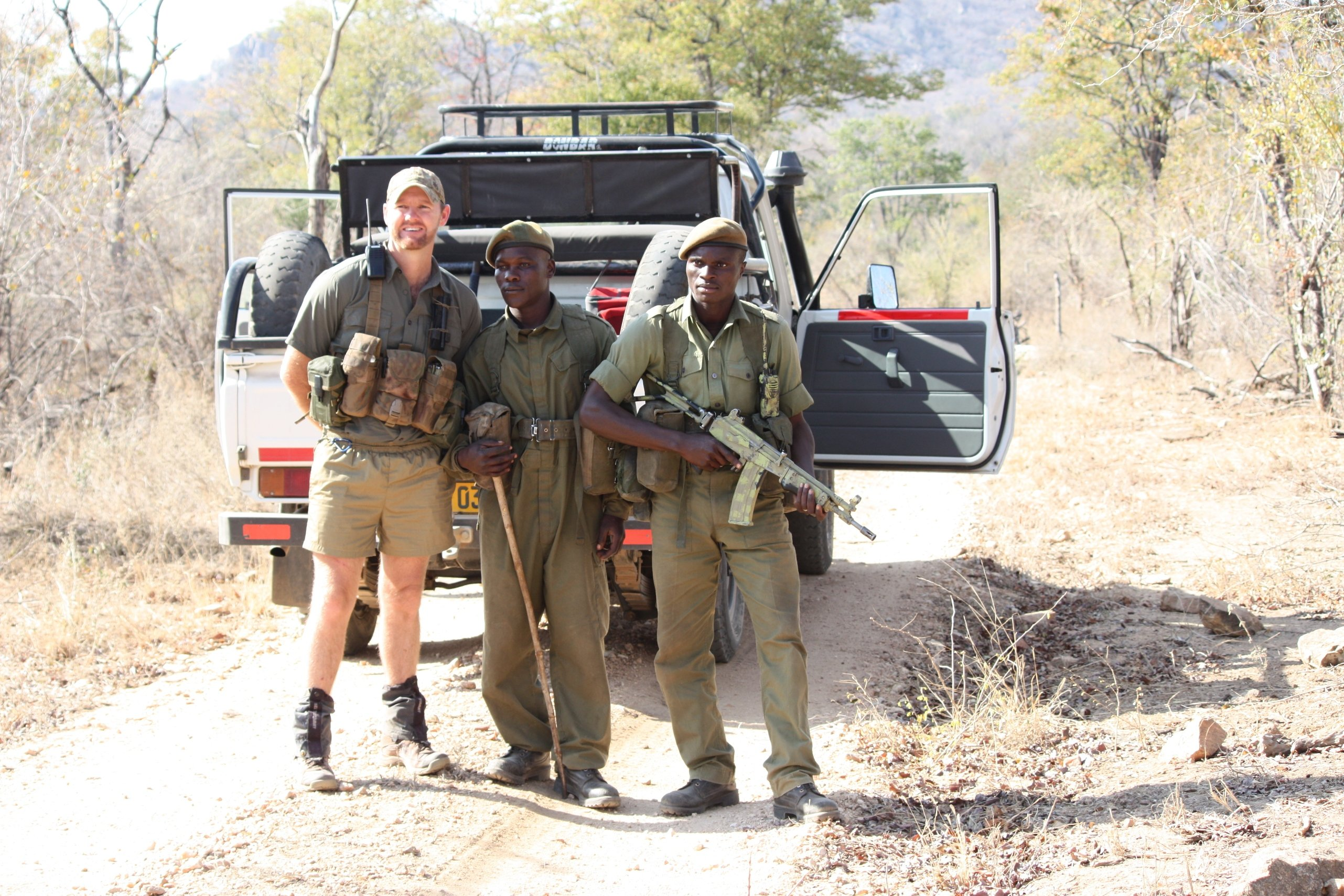 Anti-Poaching and Tracking Specialists (ATS) im Kampf gegen Wilderei