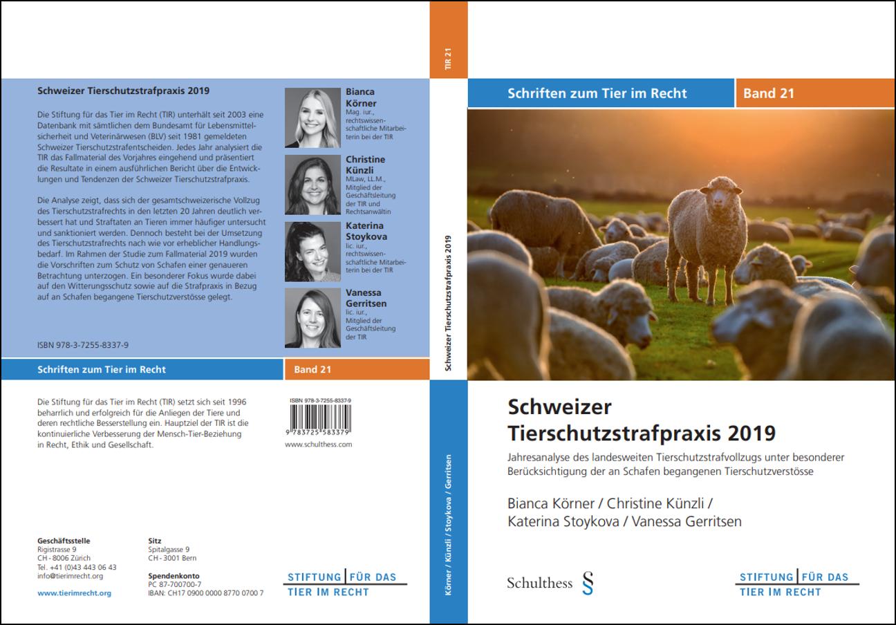 TIR Schriftenreihe Band 21 Umschlag, gerahmt