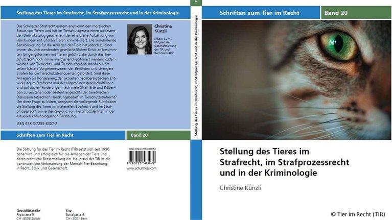 Schriftenreihe Band 20, cover inkl. Copyright