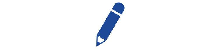 Icon Bleistift Medienmitteilungen