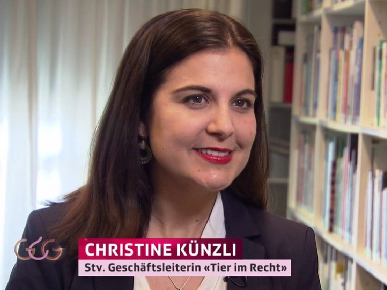 Christine Künzli bei Glanz&Gloria vom 14.2.2019