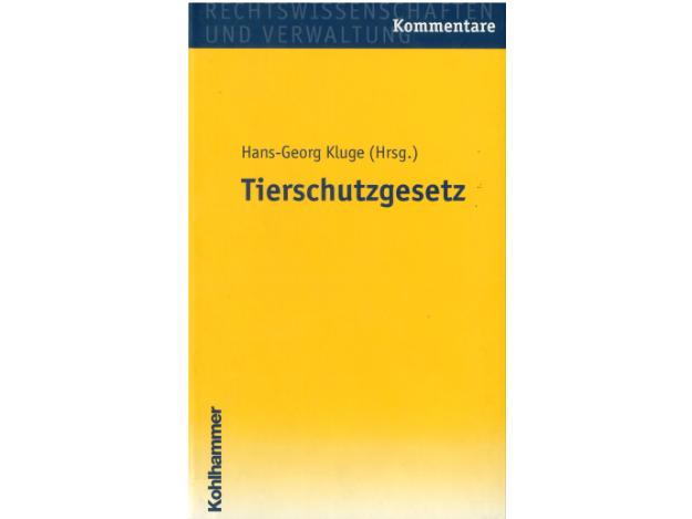 Cover Kommentar TSchG D Kluge quer