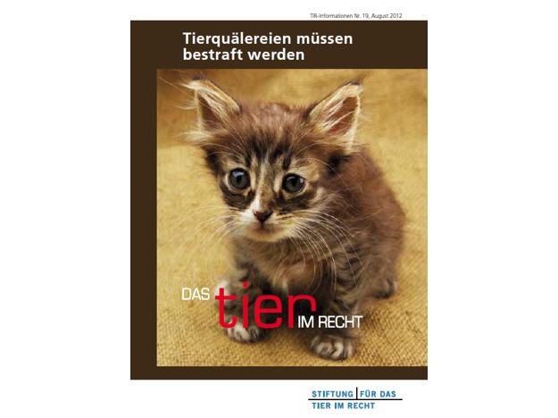 TIR Flyer Nr. 19 Front quer