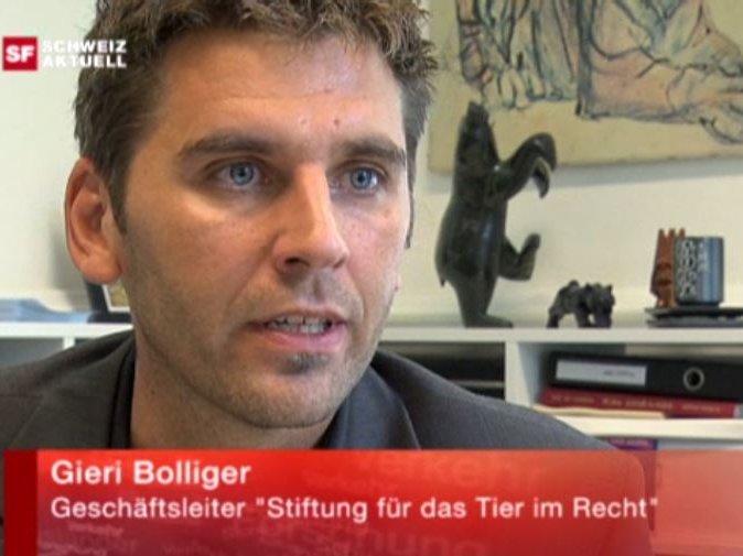 Youtube Schweiz aktuell SRF vom 24.9.2009 mit Gieri Bolliger zum Thema Unterschiedlicher Umgang mit Tierquälerei