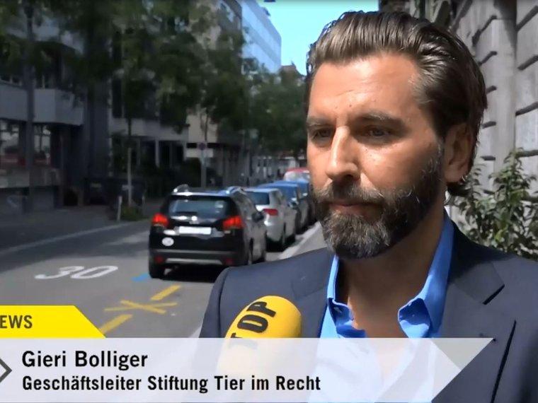 Gieri Bolliger bei Tele Top News vom 13.8.2017