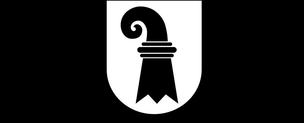 Kantonswappen Basel-Stadt BS Hunderecht