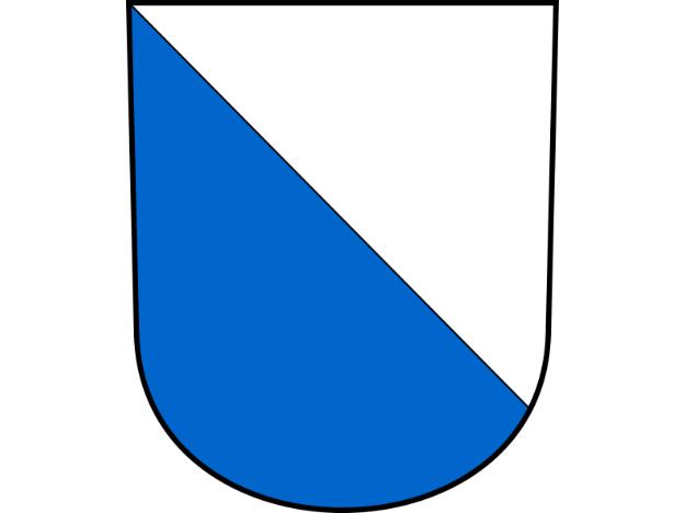 Kantonswappen Zürich quer