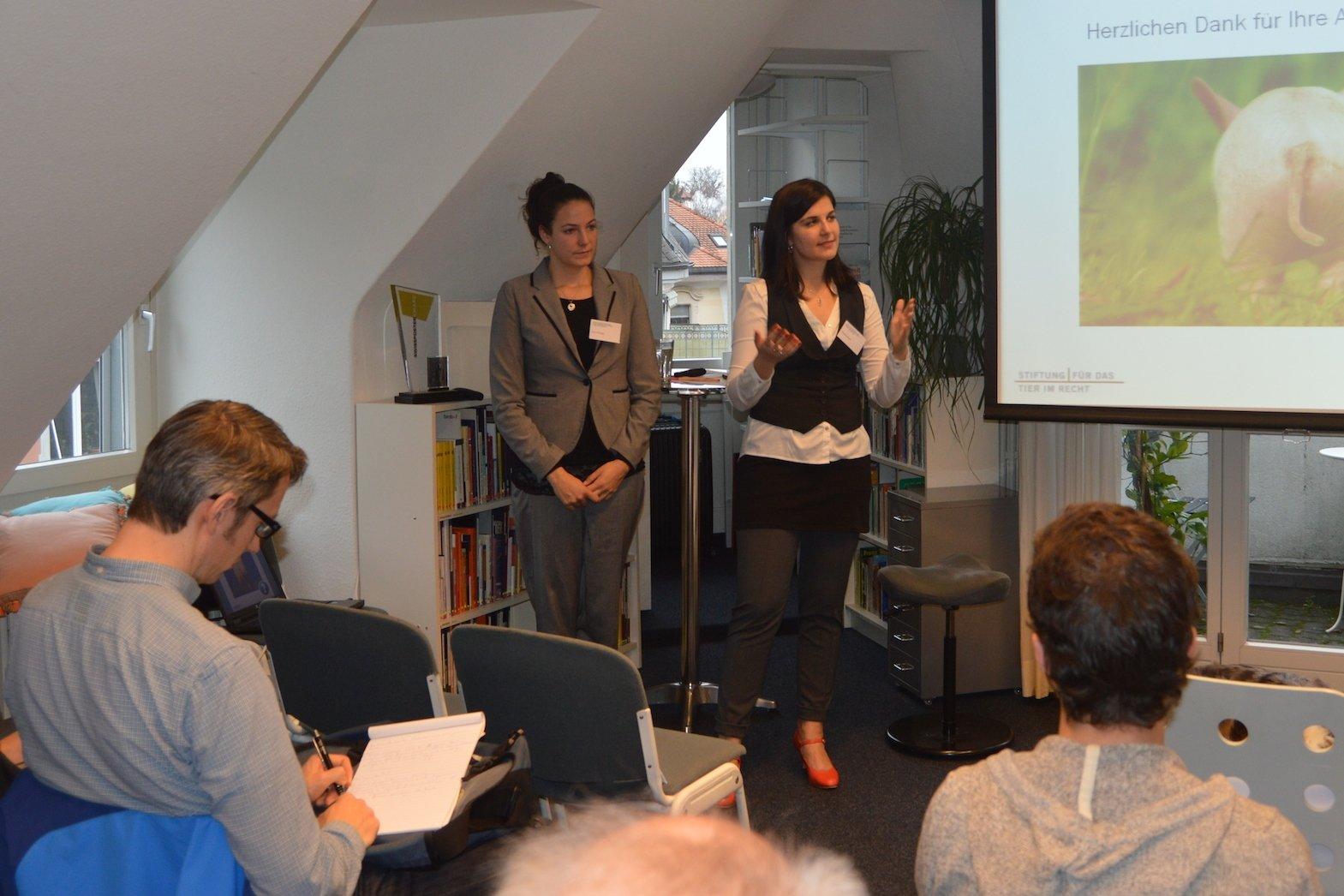 Medienkonferenz Tierschutzstrafpraxis 2013 CK und NF