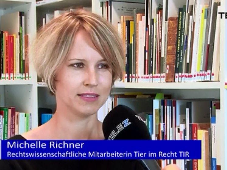 Michelle Richner bei Tele Z Report vom 16.10.2017 über Tierhaltung in Zoos und Zirkussen