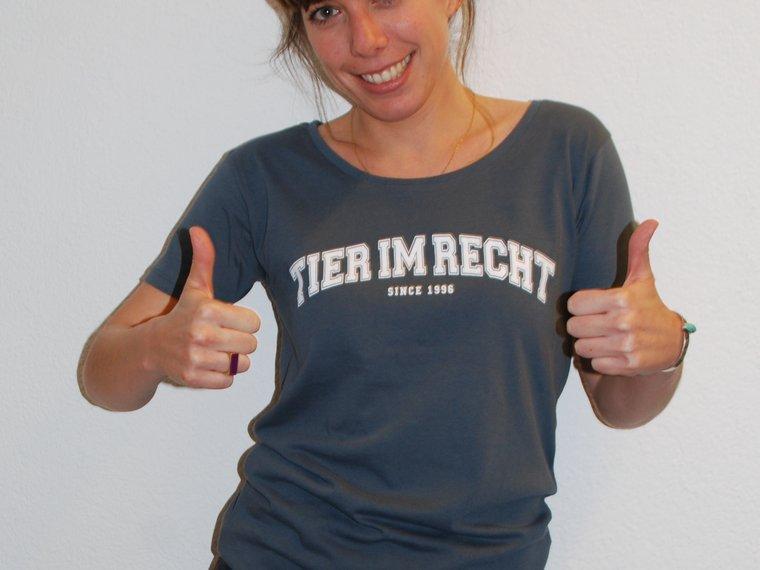 TIR Shirt College Design Women White