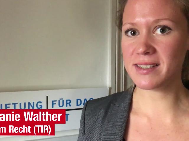 Youtube Blick vom 17.11.2017 mit Stefanie Walther zum Thema Auswertung der Schweizer Tierschutzstraffälle 2016