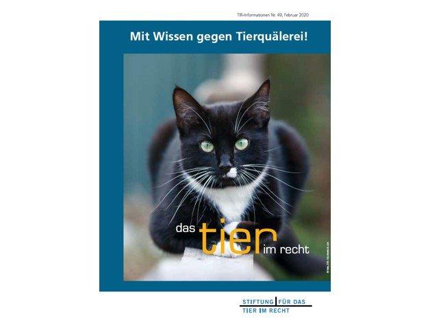 TIR-Flyer Nr. 49 Mit Wissen gegen Tierquälerei