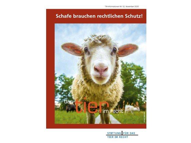 TIR Flyer Nr. 52 Schafe brauchen rechtlichen Schutz