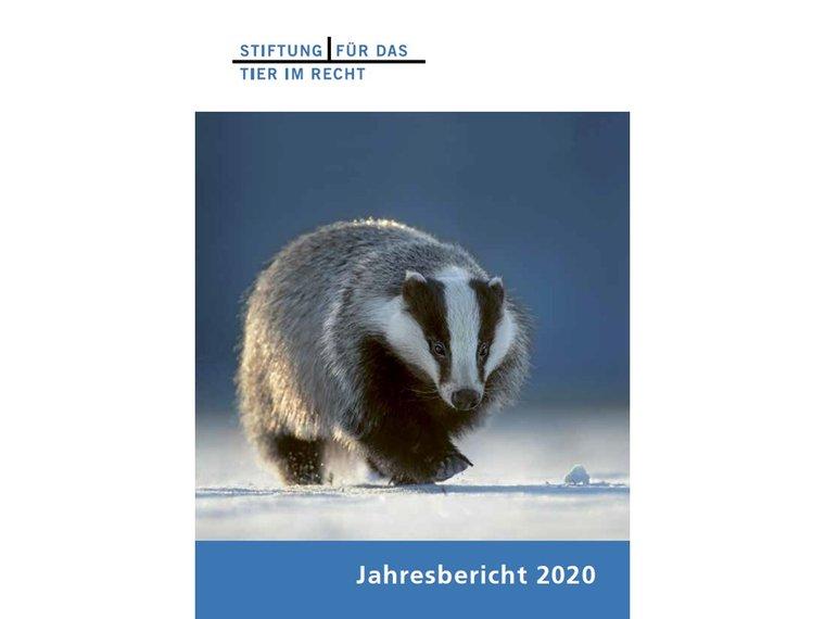 Jahresbericht 2020 cover front