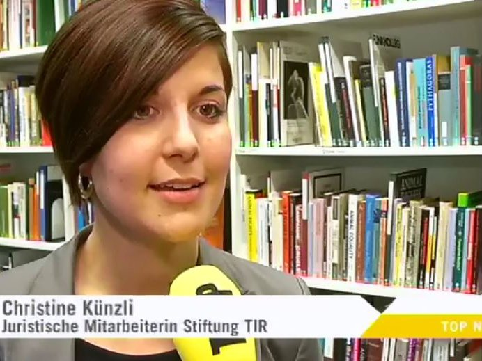 Youtube Top News Tele Top vom 27.11.2012 mit Christine Künzli zum Thema Qualzucht