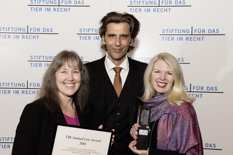 Prof. Kathy Hessler (CALS), Dr. Gieri Bolliger (TIR), Prof. Pamela Frasch (CALS)