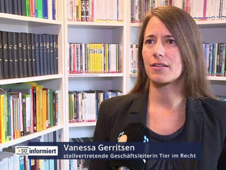Youtube SO informiert TV Südostschweiz vom 9.7.2019 mit Vanessa Gerritsen zum Thema Wildtiere im Zirkus