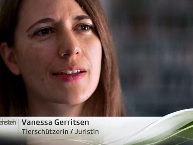Vanessa Gerristen bei SRF Einstein, Primatenversuche