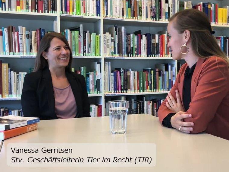 Youtube Swissveg Interview vom 19.7.2019 mit Vanessa Gerritsen zum Thema Rechte der Fische