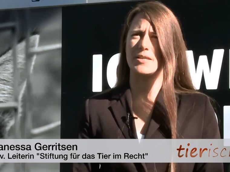 Youtube Sendung Tele M1 vom November 2017 mit Vanessa Gerritsen zum Thema tierquälerisch erzeugte Pelzprodukte