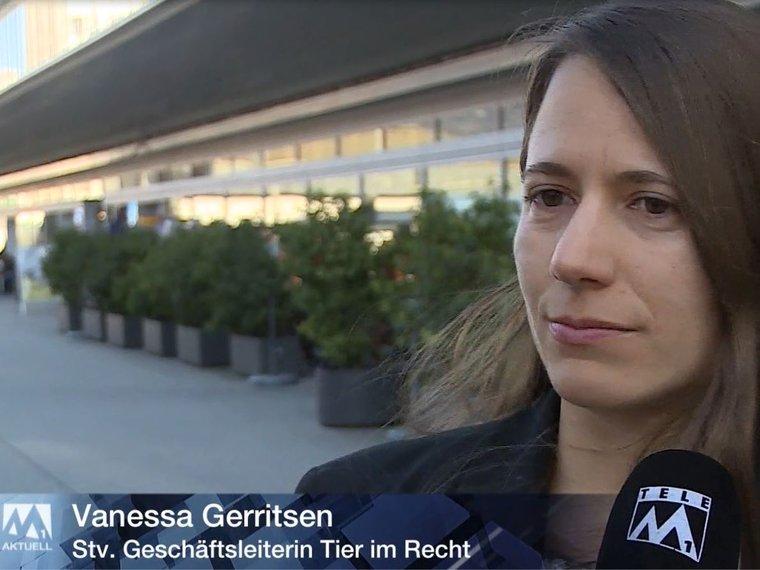 Youtube Tele M1 Aktuell vom 5.3.2017 mit Vanessa Gerritsen zum Thema Tierschutzfall Boningen SO